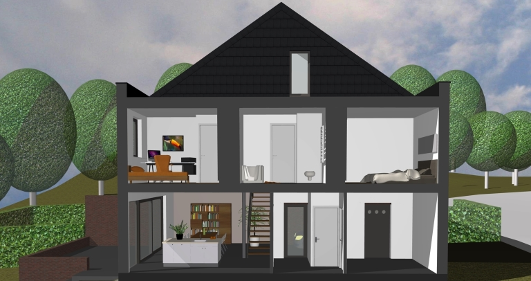 Woningen interleuven for Grondplannen woningen